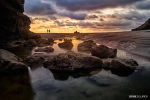 Sunset at Mompiche - Ecuador by DraculaNosferatu