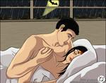 Bruce Wayne and Diana