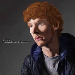 Redhead Benedict Cumberbatch