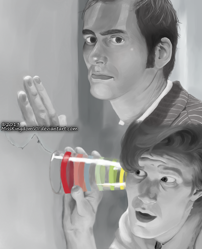 11th and 10th Doctors by MissKingdomVII