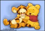 Baby Pooh and Tigger