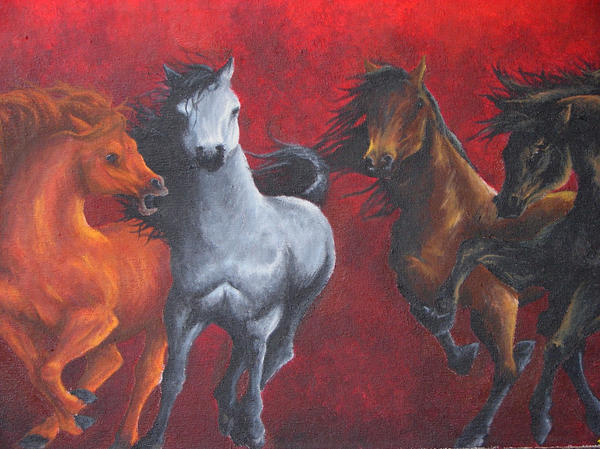 Mares of Diomedes by ~Emmasaurus on deviantART