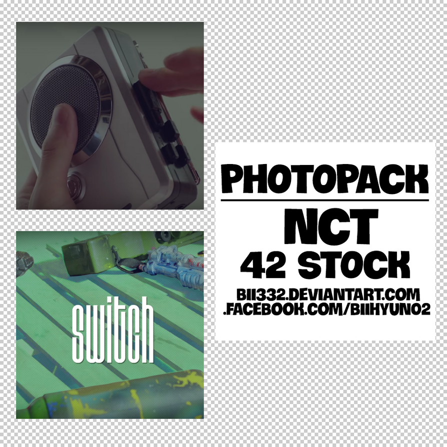 [PHOTOPACK] #015: NCT - SWITCH by Bii332