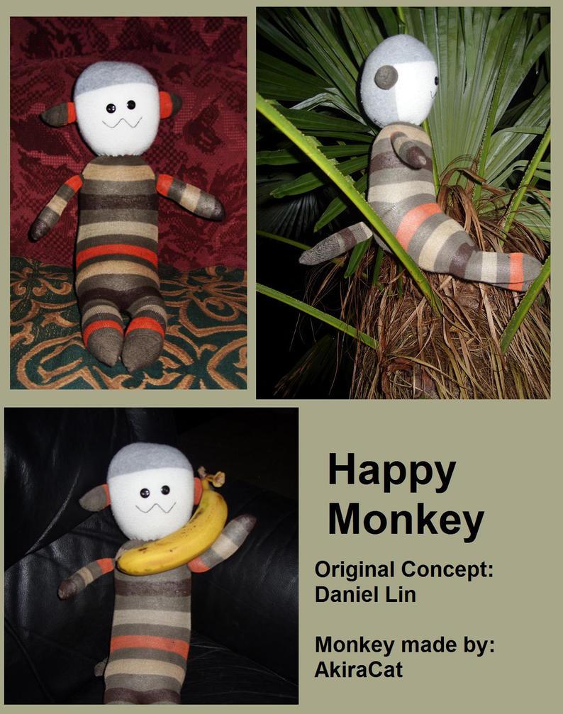 Sock Monkey Paper Crafts