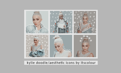 Kylie Doodle And Aesthetic Icons By Itscolour by itscolour