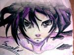 Sasuke with seal