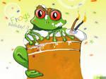 Frogs Birthday