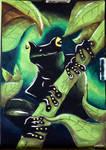 Dark Frog