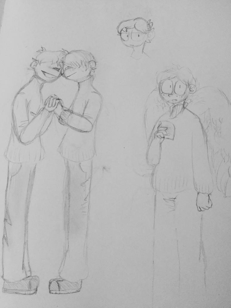 Stupid sketches 'n stuff... by JTheNoArtistArtist