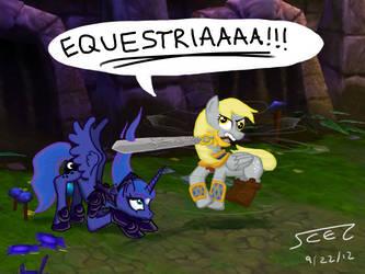 Gamer Luna by Scezumin