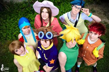 Digimon - Team by SoraPaopu