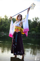 Yuna - Water dance by SoraPaopu
