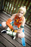 Rikku - I'm ready to play! by SoraPaopu