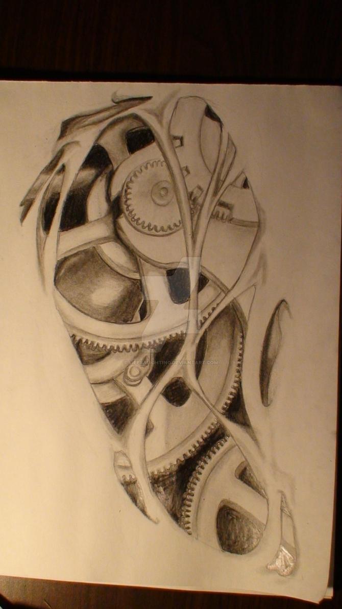 Gears Tattoo Design By Lifesalighting On Deviantart