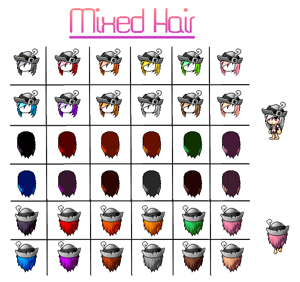 Hair Release 01 by gaysenpai