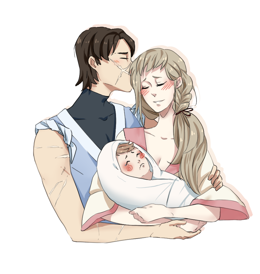 Happy family by Marta-Bit