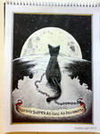 'The Moonsick Cat'