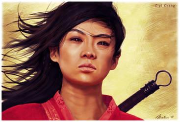 Ziyi Zhang by Ramah-Palmer