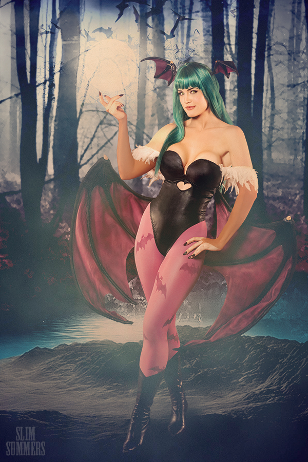 Lindze Morrigan by TheZe