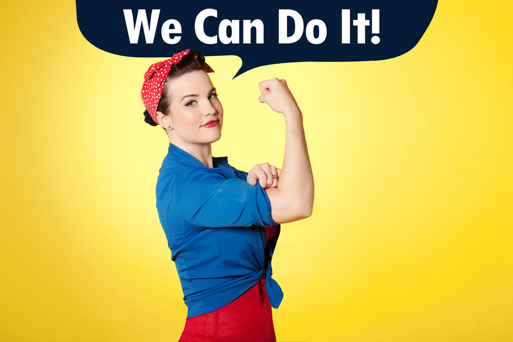 Rosie the Riveter by TheZe