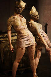 Silent Hill nurses by TheZe