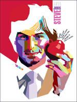 WPAP Steve Jobs by wedhahai