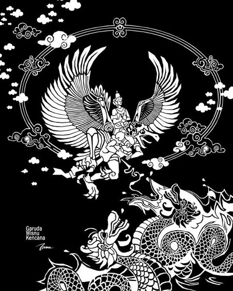 Garuda Wisnu Kencana by wedhahai