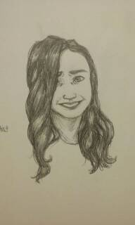 Sketch: Smiling by jaymz-ster28