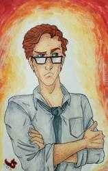 Percy Weasley by JaymzNonoel