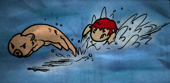 .:T-I:. Stop That Otter! by Skylark-13