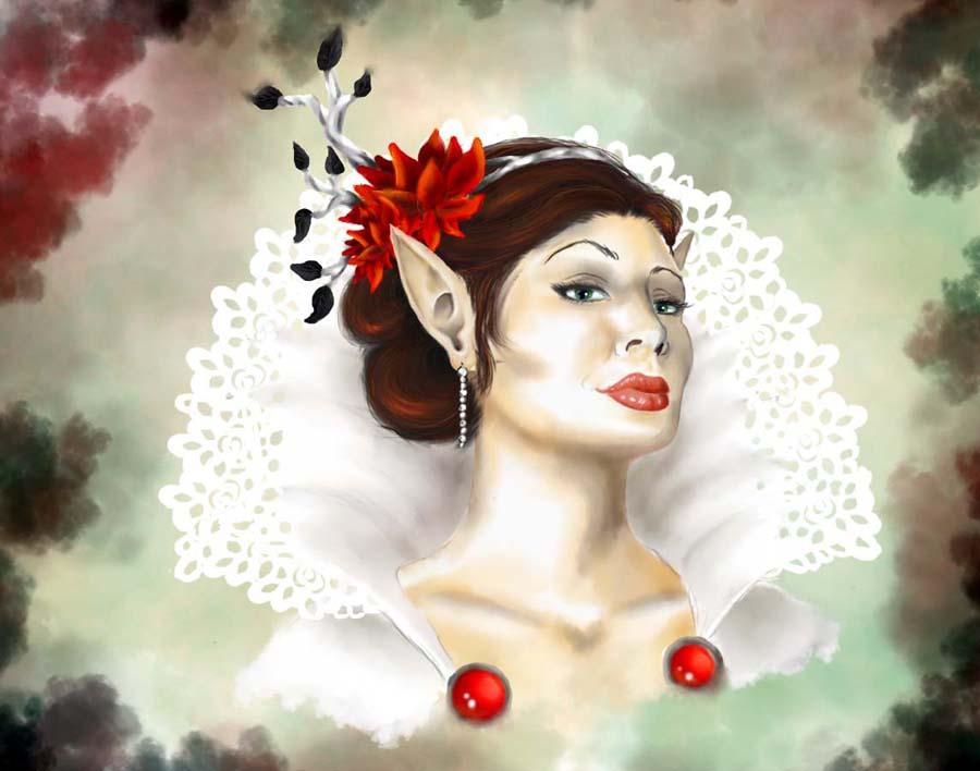 White Queen by ForestGem