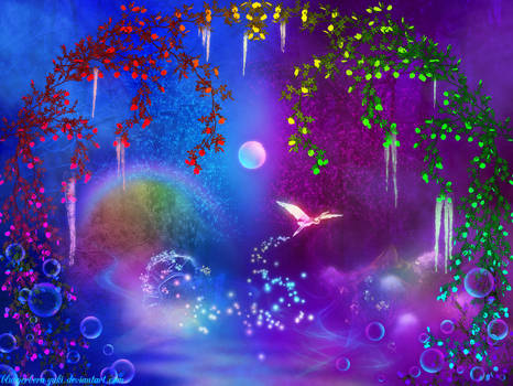 Winter Midnight-colorful-