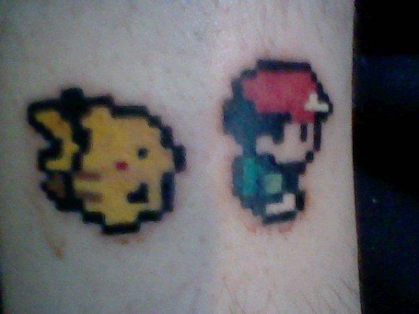 Pokemon Yellow Tattoo by azariaspice