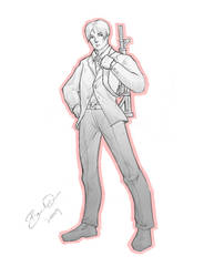 $5 Sketch Commission - Lancelo by imDRUNKonTEA