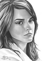 Hermione - Emma Watson by imDRUNKonTEA