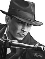 Johnny Depp - Public Enemies by imDRUNKonTEA