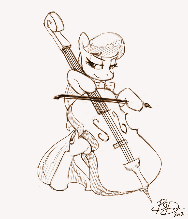 Octavia Doing What She Does by imDRUNKonTEA