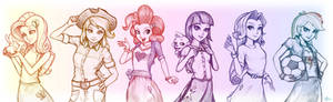 Equestria Girls - The Elements