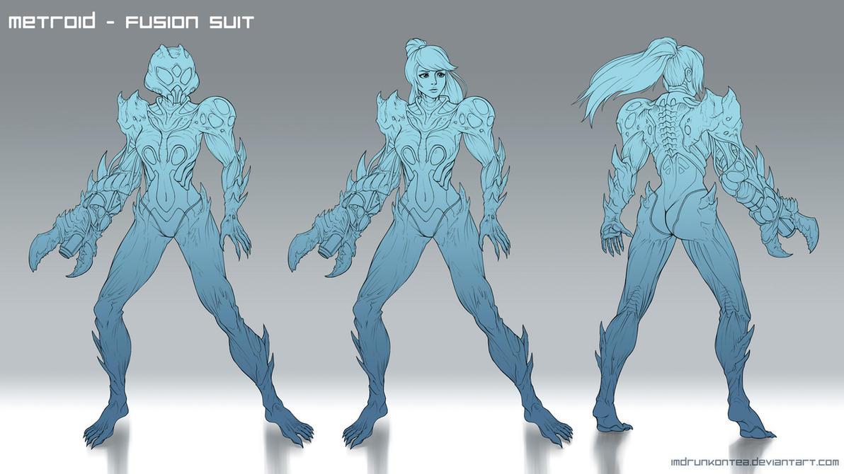 Metroid Fusion Redesign Lines By ImDRUNKonTEA On DeviantArt