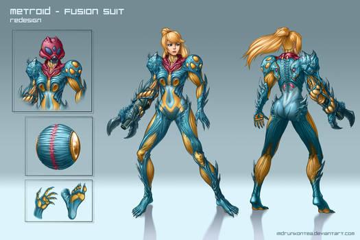 Metroid: Fusion Suit Redesign