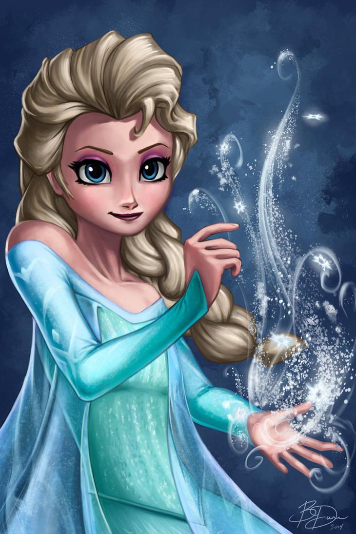 Frozen - Elsa by imDRUNKonTEA