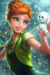 Frozen Fever - Anna by imDRUNKonTEA