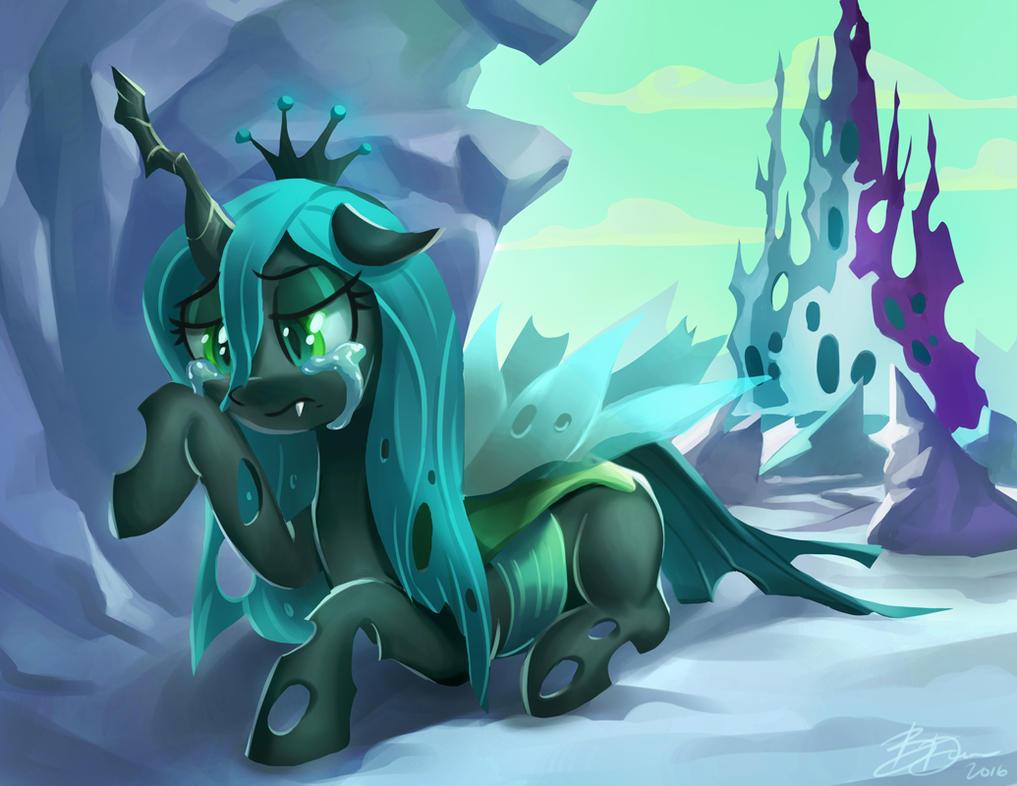 Fallen Queen by imDRUNKonTEA