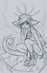Neeko Sketch by imDRUNKonTEA