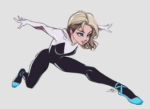 SpiderGwen - Sketch