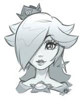 Rosalina sketch by imDRUNKonTEA