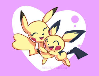 Pika Mom by imDRUNKonTEA