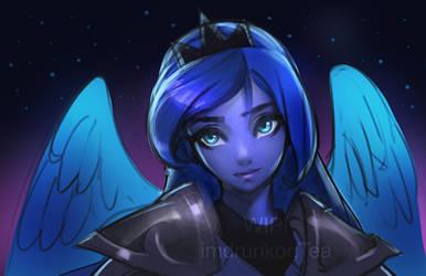 Princess Luna [work in progress] by imDRUNKonTEA