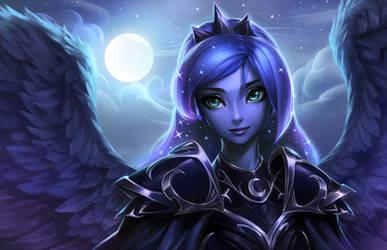 Princess Luna by imDRUNKonTEA