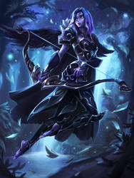 Warrior Princess Luna by imdrunkonTea